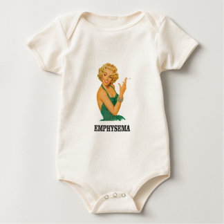 Body Para Bebê mulher do matar do enfisema