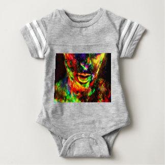 Body Para Bebê Mulheres abstratas