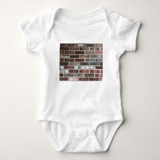 Body Para Bebê Multi parede de tijolo da cor com vermelhos,