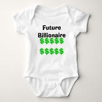 Body Para Bebê Multimilionário futuro