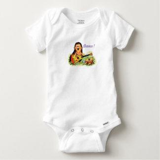 Body Para Bebê Músico do ouriço
