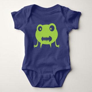 Body Para Bebê Mutante verde