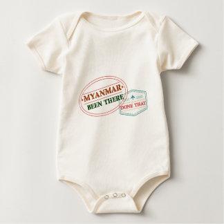 Body Para Bebê Myanmar feito lá isso