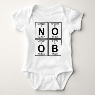 Body Para Bebê N-O-O-B (noob) - Cheio
