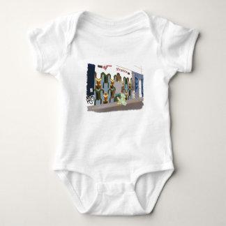 Body Para Bebê Na rua, ilustração bonito dos animais
