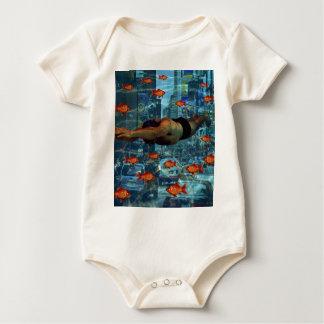 Body Para Bebê Nadadores urbanos