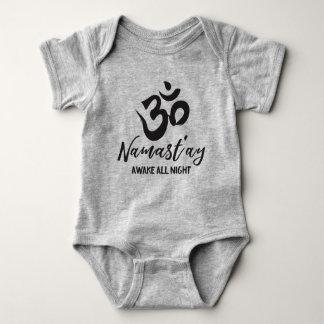 Body Para Bebê Namast'ay acordado toda a noite