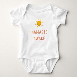 Body Para Bebê Namaste acordado