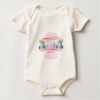 Body Para Bebê Não