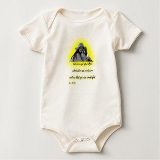 Body Para Bebê Não aceite a admiração do seu cão