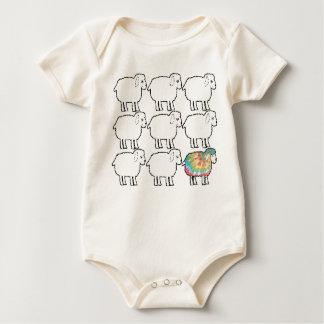 Body Para Bebê não assim as ovelhas negras