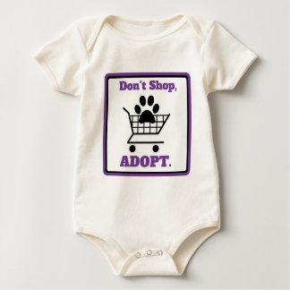 Body Para Bebê Não comprar adotam