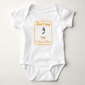 """Body Para Bebê Não diga o """"wow"""", dizem Masha'Allah"""