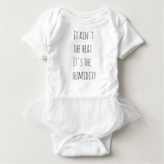 Body Para Bebê Não é o calor que é a umidade