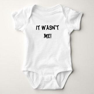Body Para Bebê Não era mim!