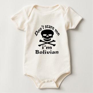 Body Para Bebê Não faz o susto mim que eu sou boliviano