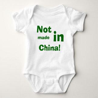 Body Para Bebê Não, feito, dentro, China!