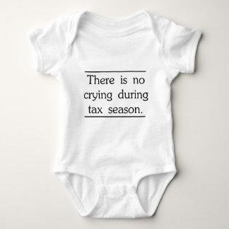 Body Para Bebê Não há nenhum grito durante a estação do imposto
