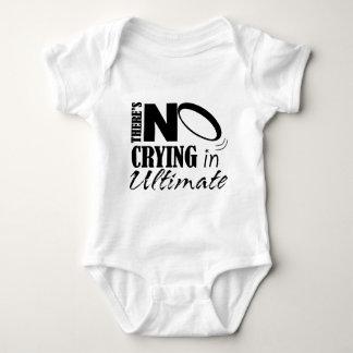 Body Para Bebê Não há nenhum grito em final