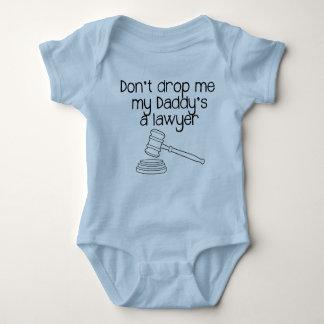 Body Para Bebê Não me deixe cair, um advogado do meu pai