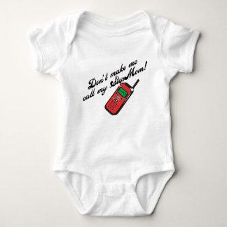 Body Para Bebê Não me faça chamar minha madrasta!