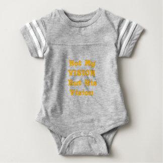 Body Para Bebê Não minha visão mas sua visão