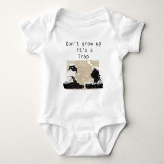 Body Para Bebê Não o cresça acima é uma armadilha
