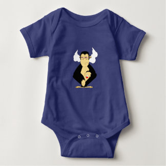 Body Para Bebê Não ouça nenhum mau