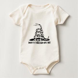 Body Para Bebê Não pise em mim