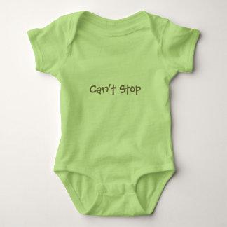 Body Para Bebê Não pode parar - não parará