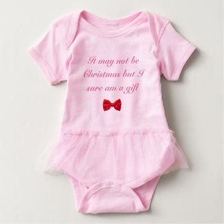 Body Para Bebê Não pode ser outfitt do bebê do Natal