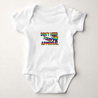 Body Para Bebê Não precise sua aprovação