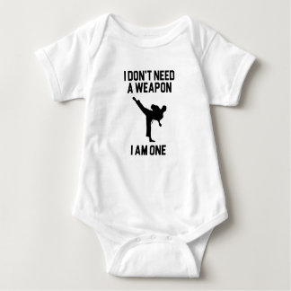 Body Para Bebê Não precise uma arma
