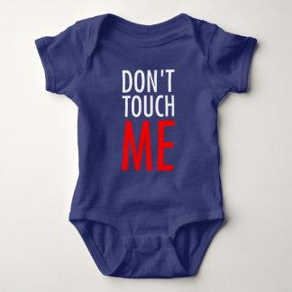 Body Para Bebê Não toque em me