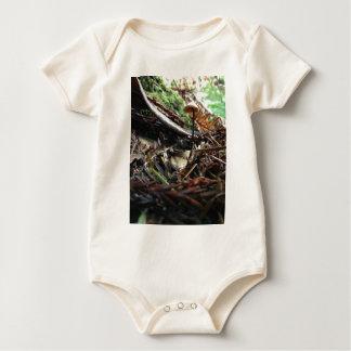 Body Para Bebê Não tropece o cogumelo