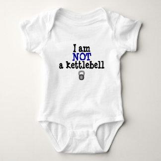 Body Para Bebê Não um kettlebell