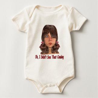 Body Para Bebê Não viu isso vir