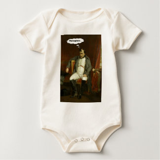 Body Para Bebê Napoleon pensa sobre porcos-