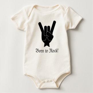 Body Para Bebê Nascer à rocha!