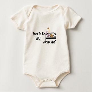 Body Para Bebê Nascer a ser selvagem!