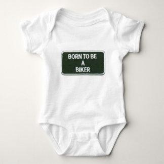 Body Para Bebê nascer a ser um motociclista