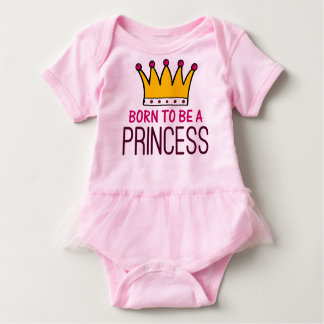 Body Para Bebê Nascer a ser uma princesa
