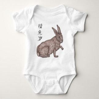 Body Para Bebê Nascer no ano do coelho
