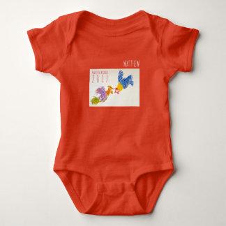 Body Para Bebê Nascer no Bodysuit personalizado ano do bebê do