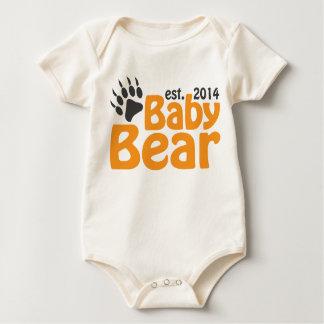 Body Para Bebê Nascer novo do bebê do urso de Babay em 2014
