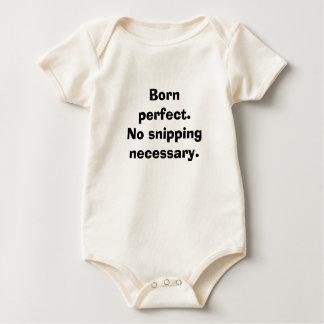 Body Para Bebê Nascer perfeito.  Nenhum corte necessário