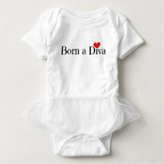 Body Para Bebê Nascer um Bodysuit da diva