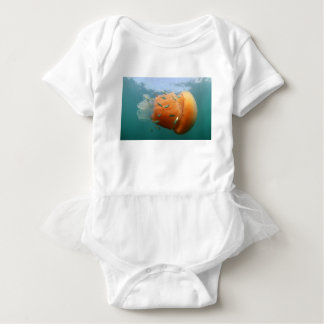 Body Para Bebê Natações das medusa do tambor com cavala