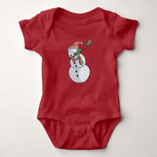 Body Para Bebê Natal engraçado de toque ligeiro do t-shirt do
