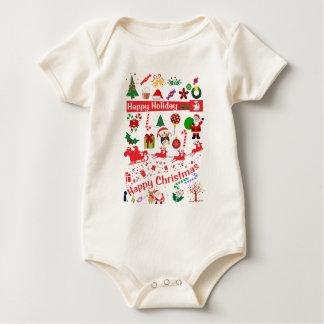 Body Para Bebê Natal feliz